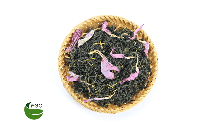 Lotus-scented tea is good for health